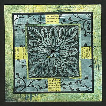 Tiled-flower-card