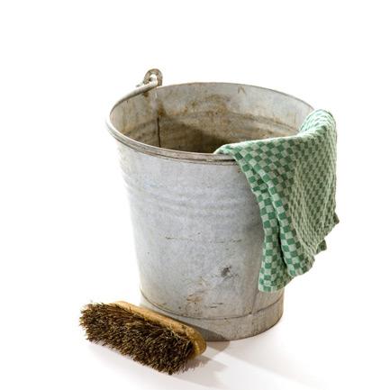 Old-bucket-brush
