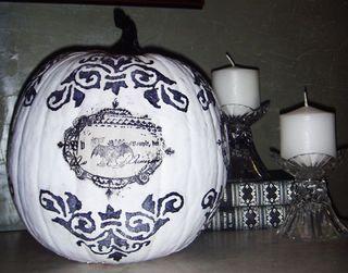 Bw-pumpkin